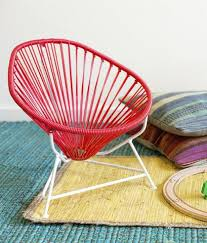 Mexican Chairs Baby Acapulco Chair In Coral U2013 Children Inspire Design