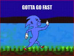 Sonic Gotta Go Fast Meme - gotta go fast meme 28 images 25 best memes about doge wow and