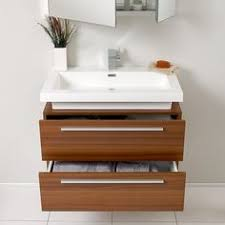 41 Inch Bathroom Vanity by Arcom 41 Inch Bathroom Vanity Cabinet With Offset Fitted Sink