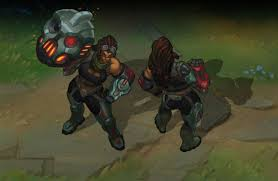 safecracker evelyn skin i made for the league of legends cops and