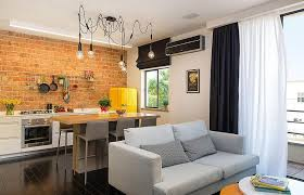 Kitchen Design Studio An Amazing Kitchen Idea With Dark Wooden Flooring And Chalkboard