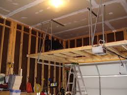 Building Wood Garage Shelves by Loft