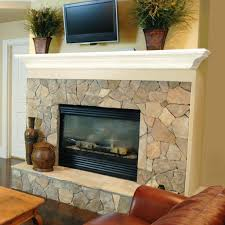 fireplace brilliant faux fireplace stone design inspirations
