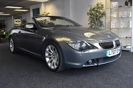 lexus convertible 2010 used bmw 6 series convertible for sale motors co uk