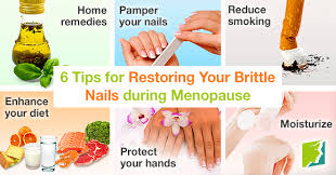 tips for restoring your brittle nails during menopause