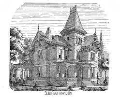 Victorian Mansion Plans Victorian House Clip Art House Interior