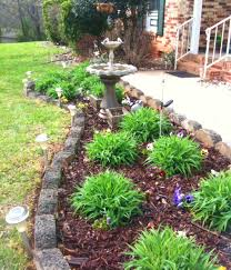 planning a flower bed landscape garden designs how to plan