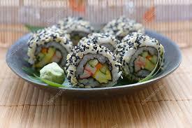 jeu de cuisine sushi jeu de sushi cuisine japonaise photographie o ae 1 113820776