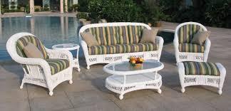 white wicker outdoor furniture change is strange new patio