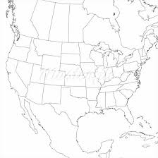 us map outline image us and mexico map outline canada clipart map outline png 17