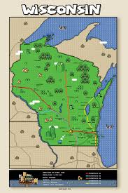 Appleton Wisconsin Map by Wisconsin Super Mario Map Some Chicago Improvisor