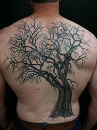 guys oak tree back with roots tats oak