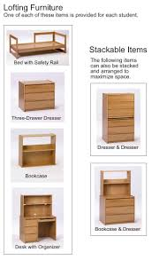 Dimensions Of Bunk Beds by Furniture Dimensions U0026 Lofting Instructions Housing Students
