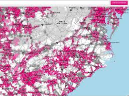 Time Warner Cable Service Area Map T Mobile Uses U0027real Time Customer Experience U0027 For Its New Coverage