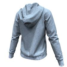 realistic hoodie obj model 3d clothing free download cg elves