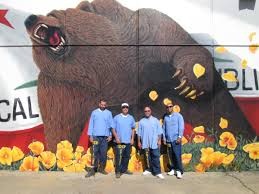 Mural Project by Go Big Avenal State Prison Mural Project Paints A Picture Of Hope