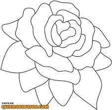 imagenes para colorear rosas rosa para colorear