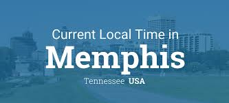Map Usa Time Zones by Current Local Time In Memphis Tennessee Usa