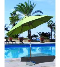 Palm Tree Patio Umbrella Best Selection Tilt Patio Umbrellas Galtech 9 Ft Teak