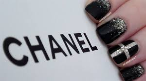 chic chanel inspired nails nail art gallery