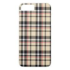 plaid vs tartan red beige black white squares tartan plaid pattern iphone 8 plus 7