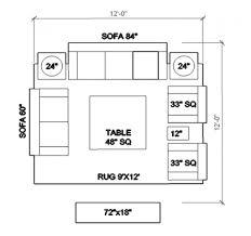 living room furniture dimensions interior design