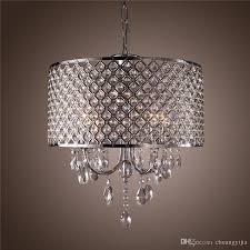 Contemporary Chandeliers For Dining Room Modern Chandeliers With 4 Lights Pendant Light With Crystal Drops