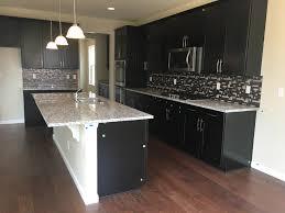 Timberlake Kitchen Cabinets Timberlake Sonoma Espresso Cabinets Ashen White Granite