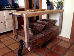 rustic kitchen islands and carts kitchen island cart industrial