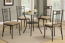 Round Glass Top Dining Table Set Modern Round Glass Dining Table Sets Best Dining Table Ideas