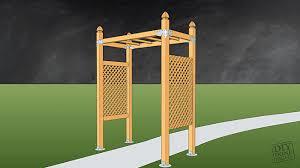 build a garden trellis garden trellis diy done right