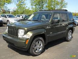 Jeep Green Metallic 2008 Jeep Liberty Sport 4x4 Exterior Photo