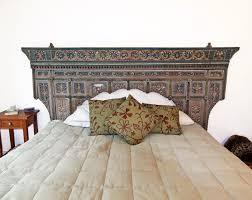 Indonesian Bedroom Furniture by Antique Indonesian Headboard Eclectic Bedroom Orange County