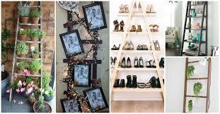 ladder decoration ideas wooden ladder ideas repurposed crafts