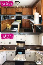 do i need to seal kitchen cabinets after painting transform your kitchen cabinets the easy way rethunk junk