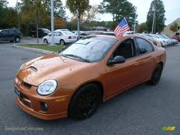 2005 dodge neon srt 4 in orange blast pearlcoat photo 5 168220