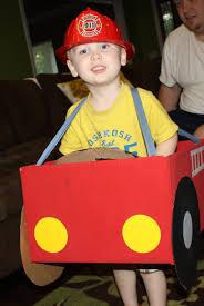 kid craft u2013 fun with a cardboard box u2013 fire truck
