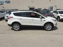 Ford Escape Four Wheel Drive - new 2017 ford escape se 4wd 4 door sport utility in winnipeg