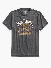 Jack Daniels Flag Jack Daniels White Rabbit Tee Lucky Brand