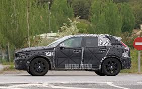 spied volvo xc40 interior caught uncovered motor trend