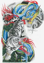 half sleeve tattoo japanese designs white tiger colored wave tattoo par airelle le 17 05 2014 ink
