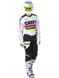 blank motocross jersey shift white 2017 recon phoenix mx jersey shift freestylextreme