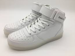 how to charge light up shoes greatjoy led shoes sneakers cool high top led shoes led light up