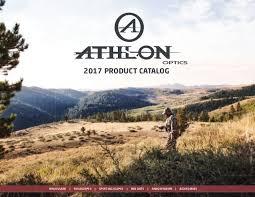 si e d athlon catalog athlon optics 2017 optics trade