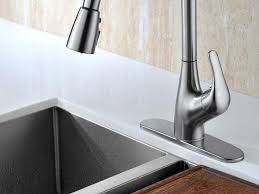 Single Handle Kitchen Faucet With Pullout Spray by Sink U0026 Faucet Pm Grohe Veris Faucet Aef White Single Handle