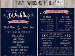wedding program poster wedding program templates diy ideas top wedding websites