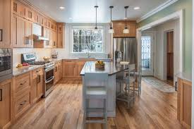 light cherry wood kitchen cabinets kitchen of the week cherry cabinets bring warmth in vermont