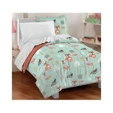 Forest Bedding Sets Forest Bedding Set Nature Comforter Sheets Fox Owl Polka