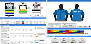 online design program jerseys design tool to create custom sports uniform online
