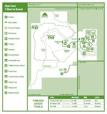 Decatur Illinois Map by Friends Creek Conservation Area Macon County Conservation District